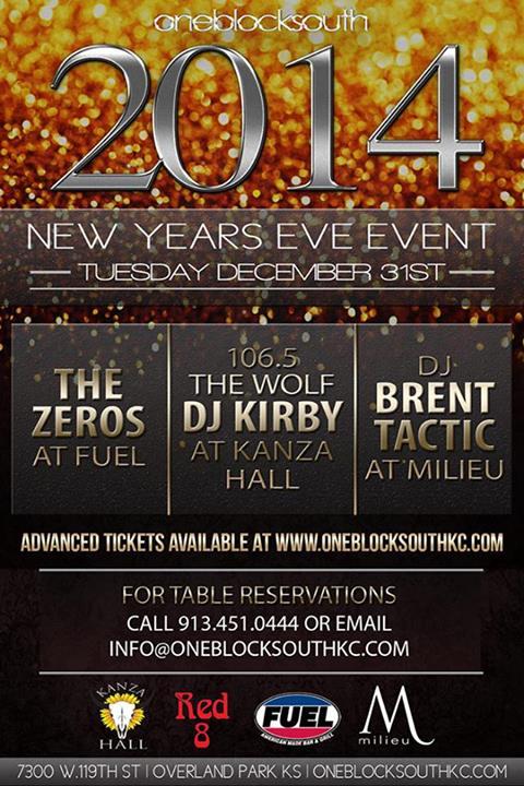New Years Eve in Kansas City 2017 2018 NYE